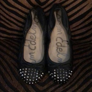Sam Edelman ballet flats with spikes